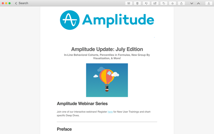 amplitude email