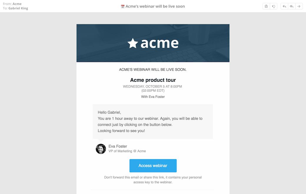 Gestion des Emails