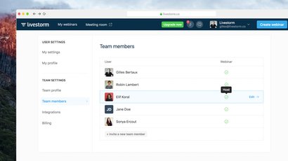 Livestorm Webinars for Teams: Manage all your Team's Webinars in One Place