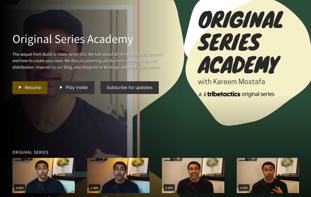 educational web series