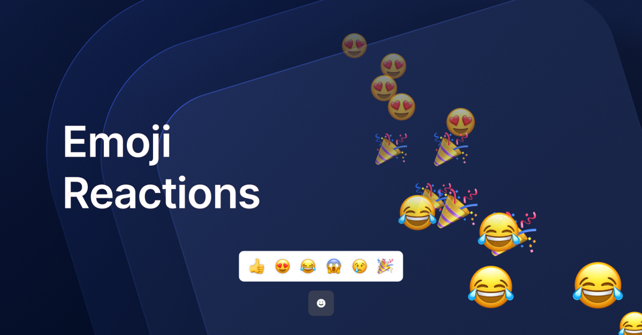 emoji reaction effect