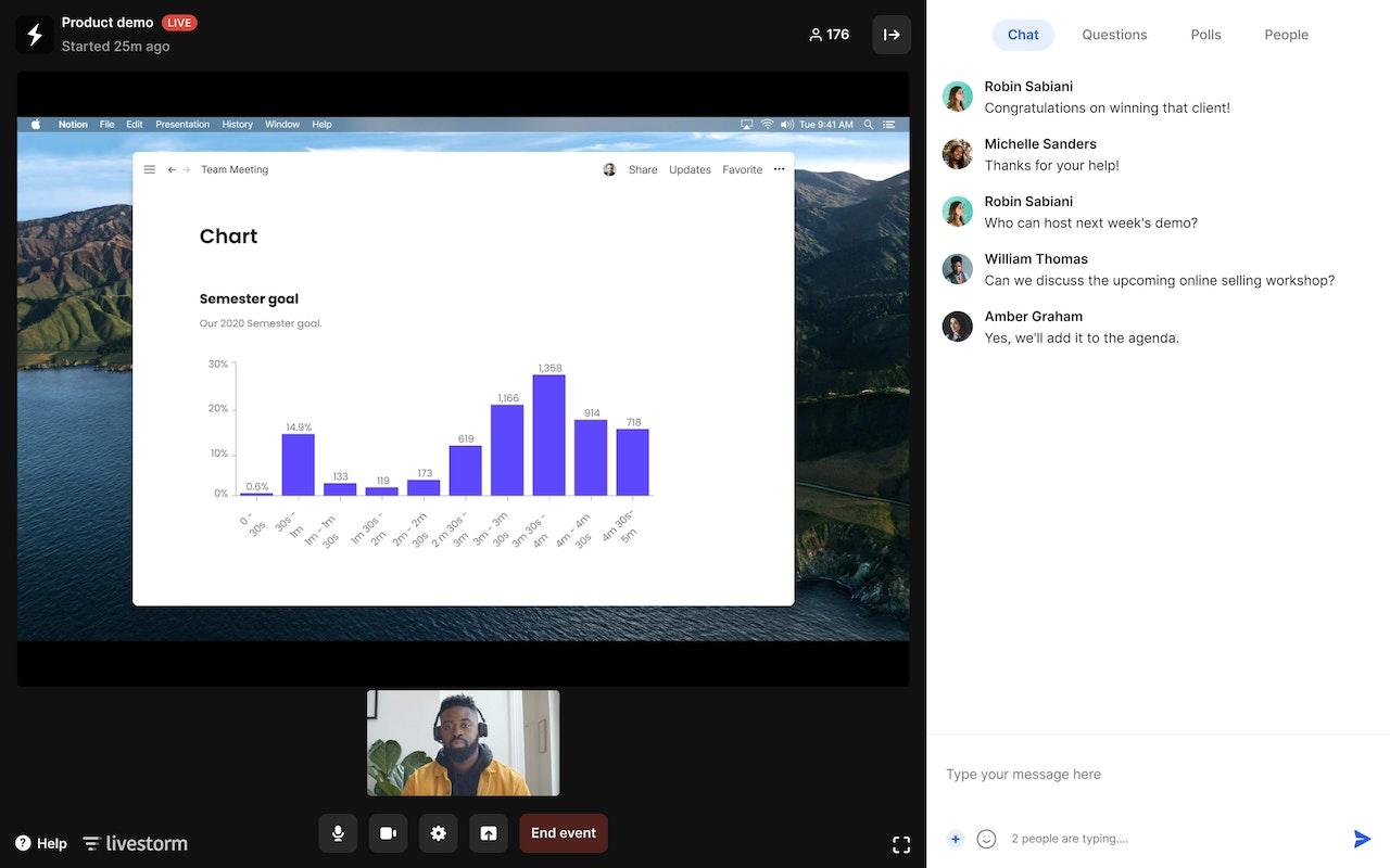 Software video para tus demostraciones de producto online