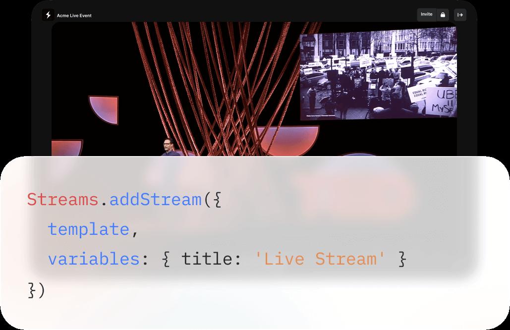 Create a stream