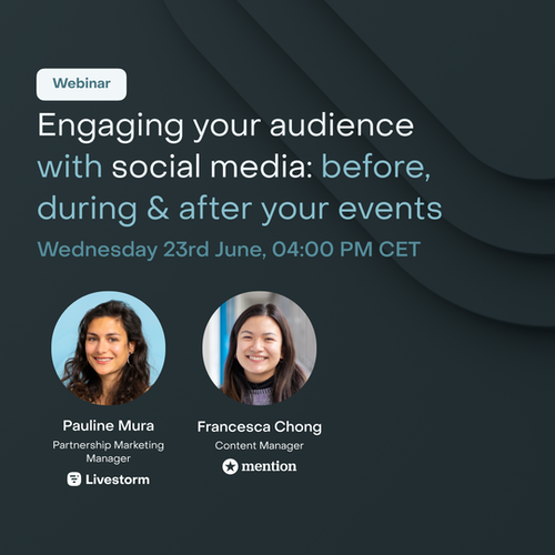 Engaging your Audience with Social Media Before, During and After your Events