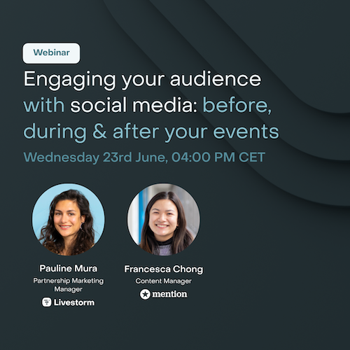 Engaging your Audience with Social Media Before, During and After your Online Events