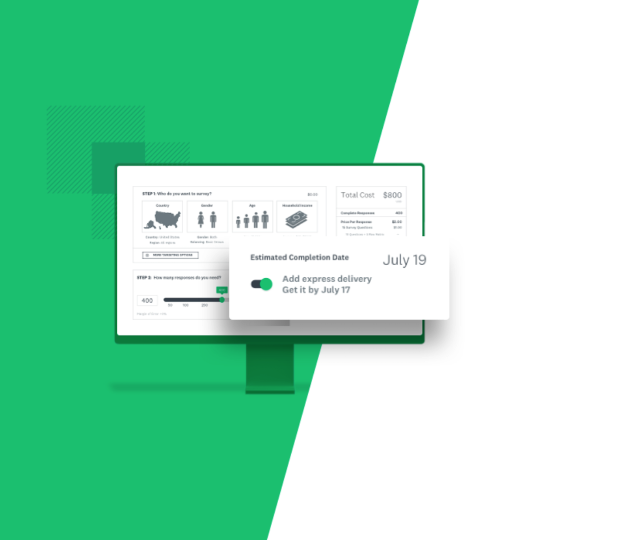 SurveyMonkey product screenshot
