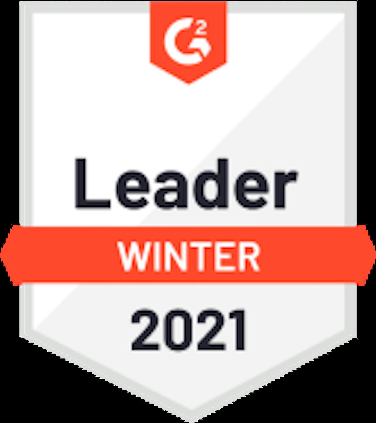 G2 Badge 2021 - Leader hiver