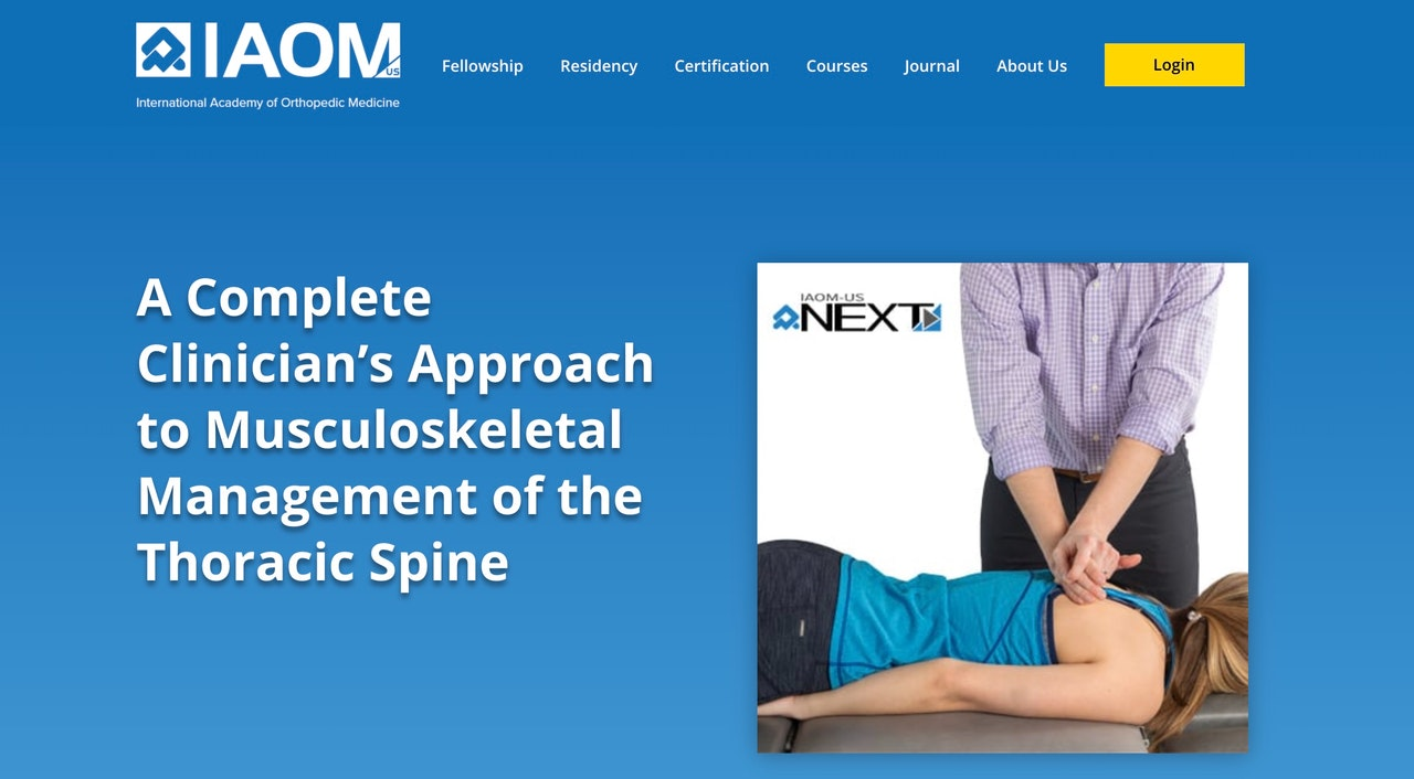 Complete Clinician course