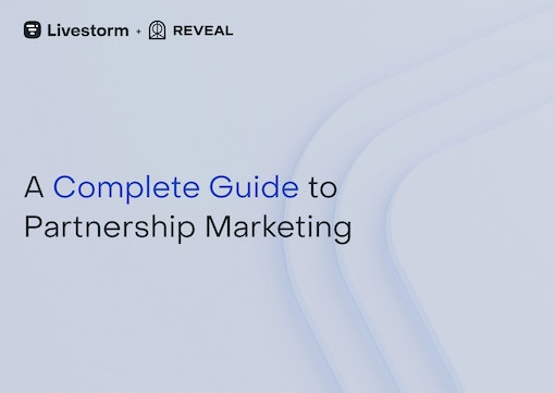 Blue cover Complete Guide to Partnership Marketing
