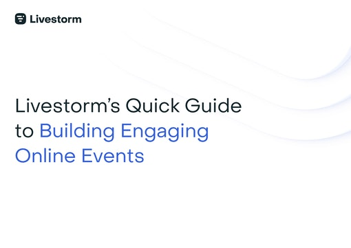 White cover  Guide to Building Engaging Online Events