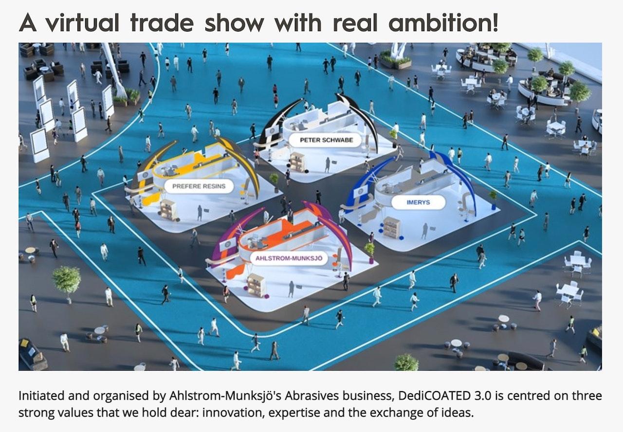 Ahlstrom-Munksjö virtual trade show