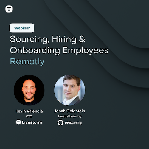 Hiring, Sourcing and Onboarding your employees in a remote world